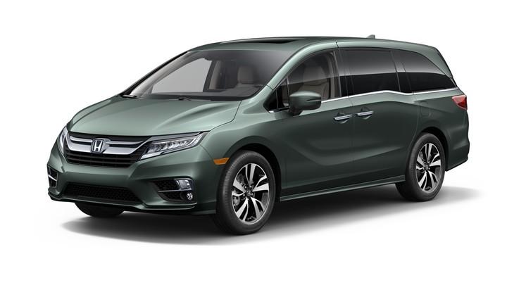 02 2018 Honda Odyssey
