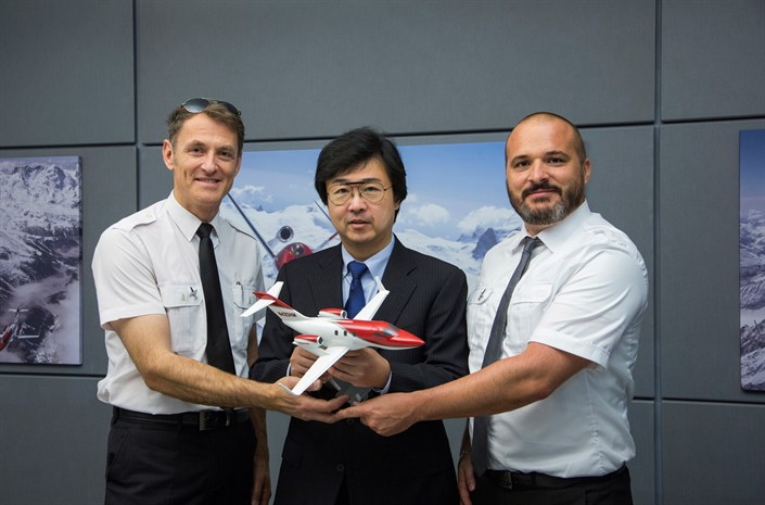 107954 HondaJet Sets Speed Record And Celebrates Bestseller Status In First