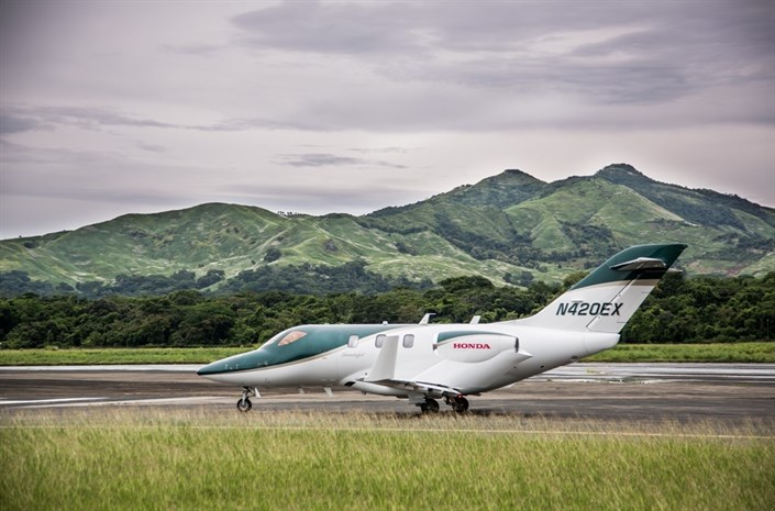 107955 HondaJet Sets Speed Record And Celebrates Bestseller Status In First