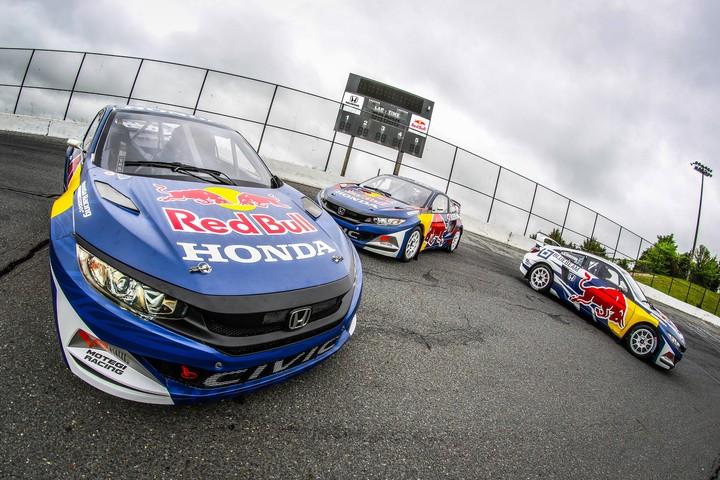 Honda And Red Bull Cars