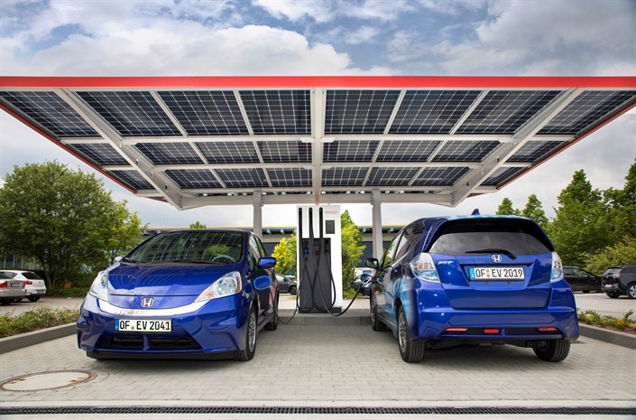 108257 Europe S Most Advanced Public Electric Vehicle Charging Station Opened At
