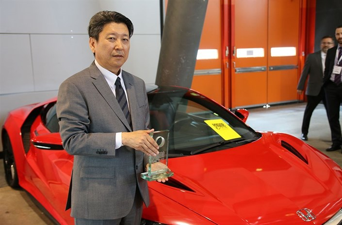 110368 HONDA NSX ENGINE IS THE BEST NEWCOMER AT INTERNATIONAL ENGINE OF THE YEAR