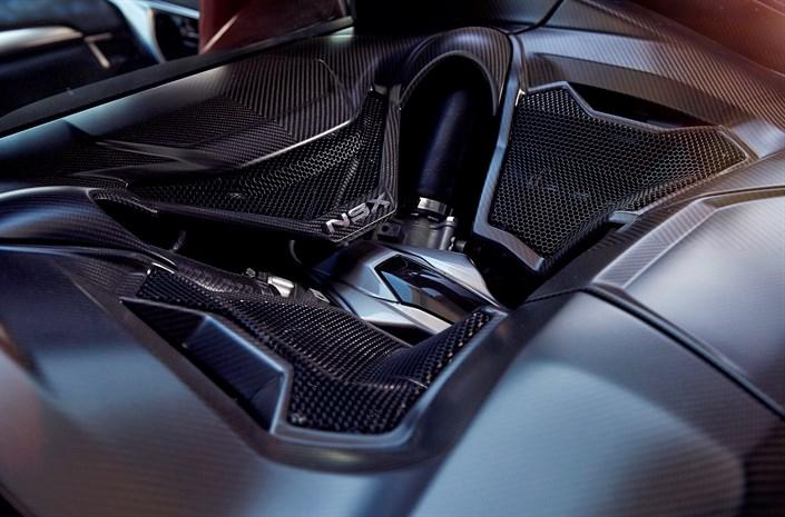 Év Motorja díjnyertes a Honda NSX erőforrása