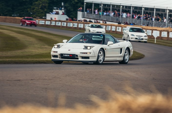 111031 25 Years Of Type R At Goodwood Festival Of Speed 2017