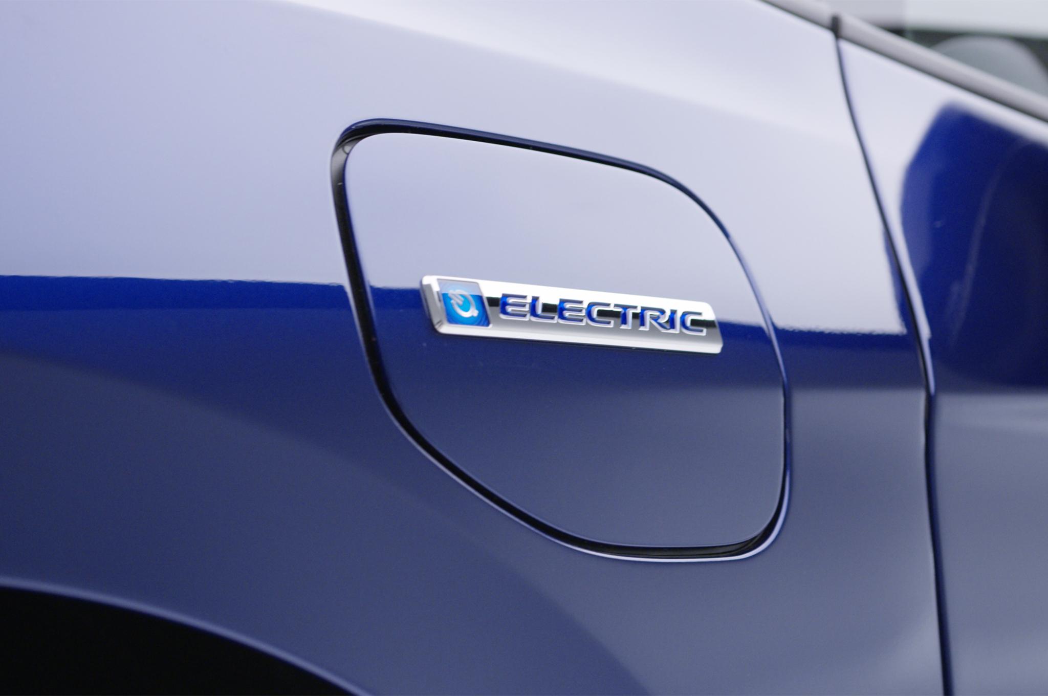 2017 Honda Clarity Electric Badge