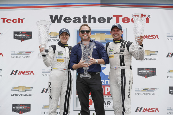 Micheal Shank Racing Takes Acura NSX GT3 To Victory In Detroit
