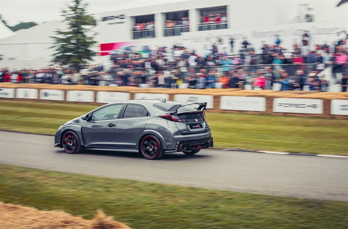 111019 25 Years Of Type R At Goodwood Festival Of Speed 2017