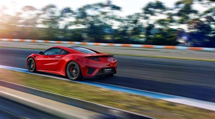 113036 Honda Announces Next Delivery Of NSX To UK