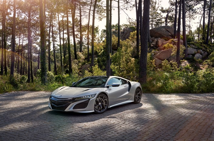 113037 Honda Announces Next Delivery Of NSX To UK