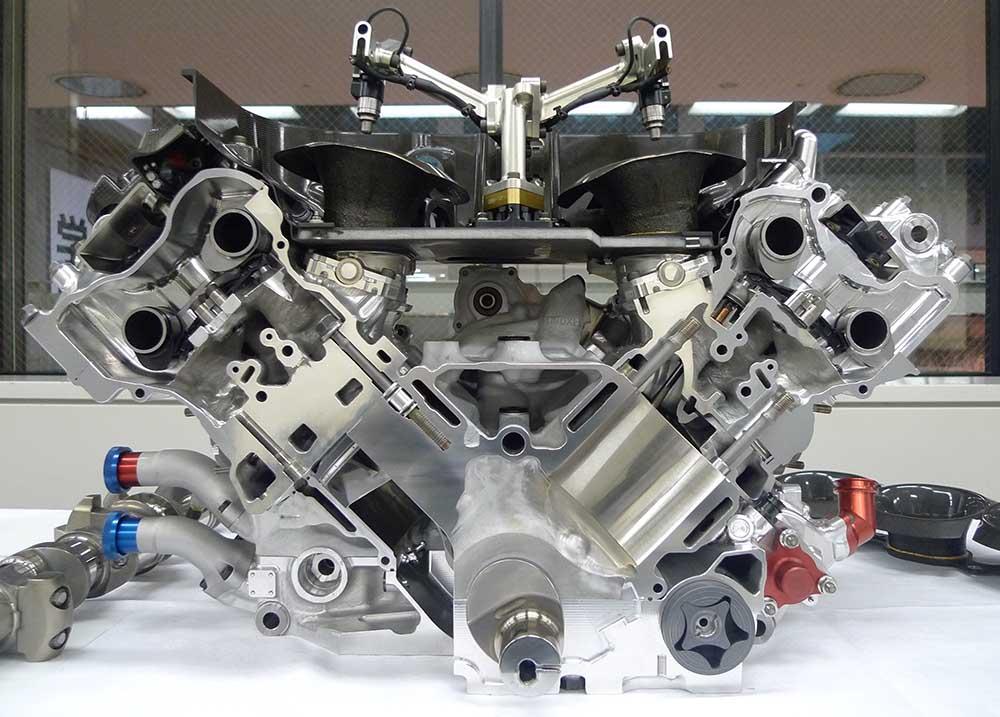 2017 McLaren Honda F1 Engine Revealed
