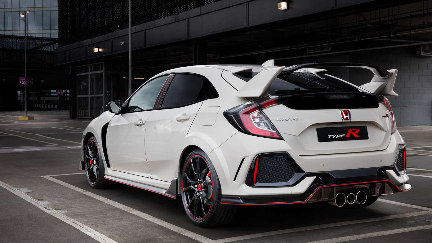Civic Type R Back