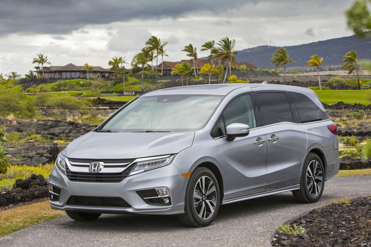 2018 Honda Odyssey 153
