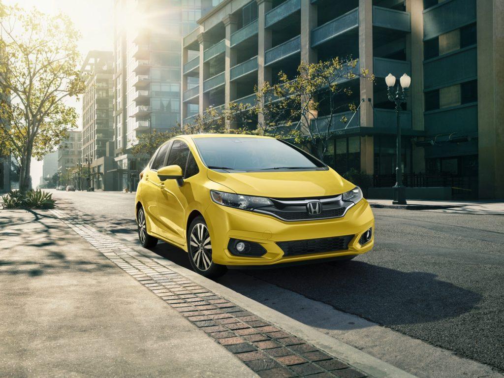 2018 Honda Fit EX-L - Helios Yellow