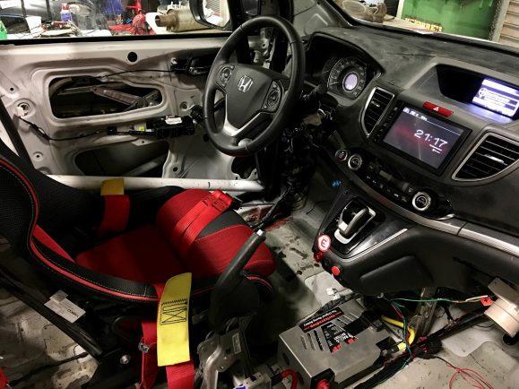 123602 Honda UK And Mission Motorsport Create First Ever CR V Diesel Race Car For 579x434
