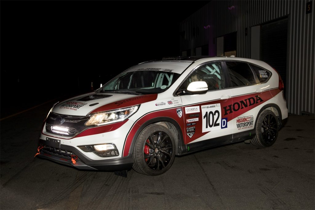 123604 Honda UK And Mission Motorsport Create First Ever CR V Diesel Race Car For 1024x683