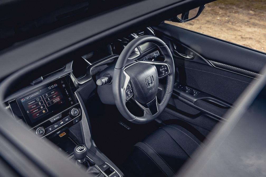 105768 Honda Civic 1 5 VTEC Turbo Sport Plus Interior