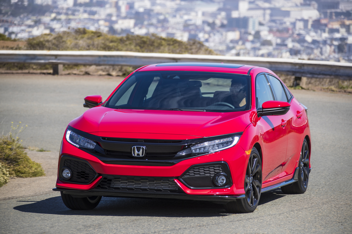 2018 Honda Civic Hatchback 86