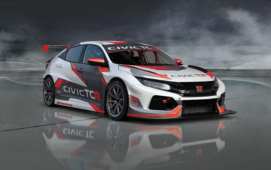 126017 CHAMPIONSHIP WINNING TEAMS SELECT NEW HONDA CIVIC TCR FOR FIA WTCR