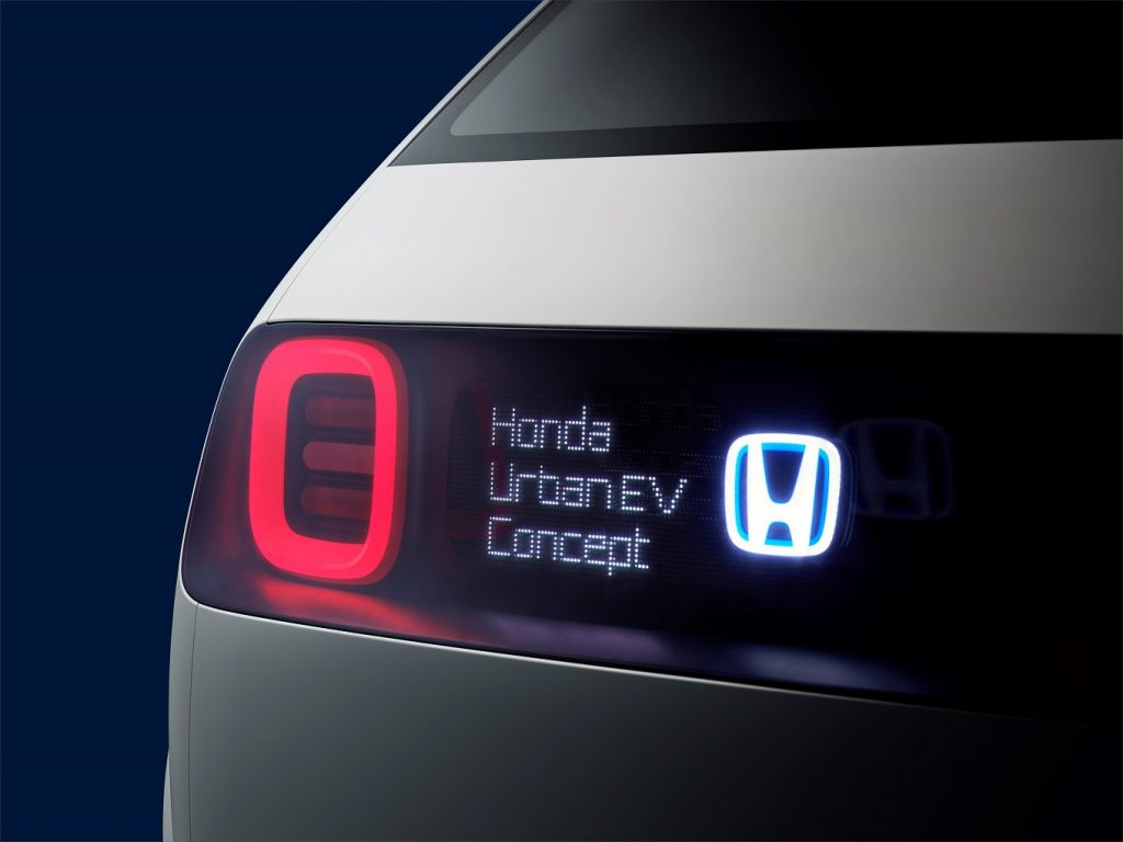 113875 Honda Urban EV Concept Unveiled At The Frankfurt Motor Show 1024x768