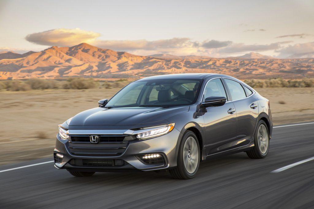 2019 Honda Insight Makes Its Global Debut 1024x683