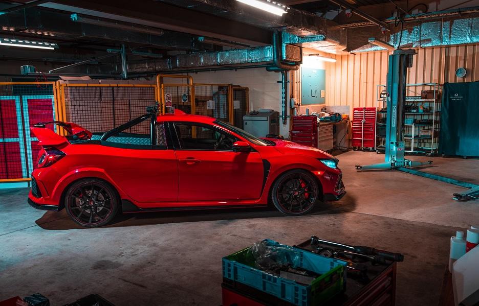 131559 Honda Reveals Civic Type R Pickup Truck Concept