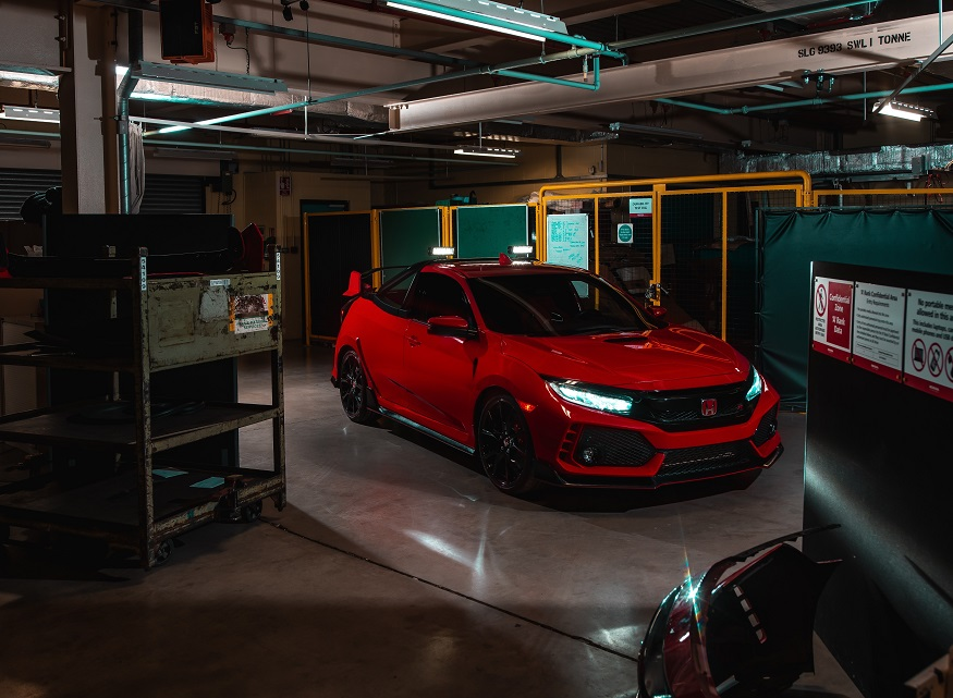 131561 Honda Reveals Civic Type R Pickup Truck Concept 1