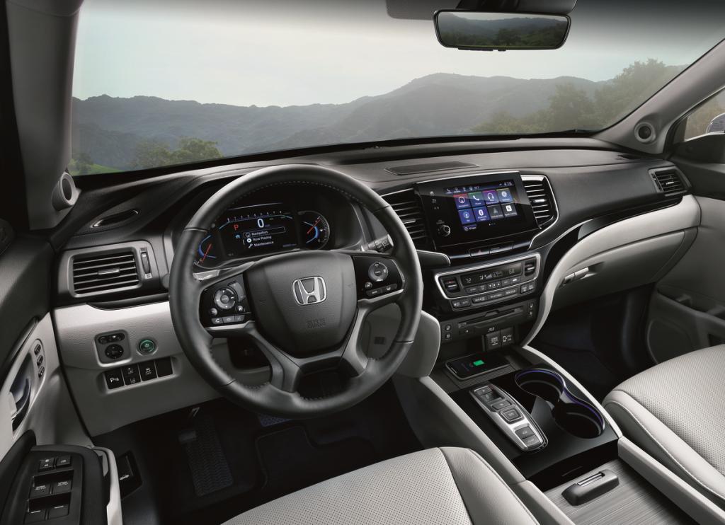 2019 Honda Pilot Interior 1024x742