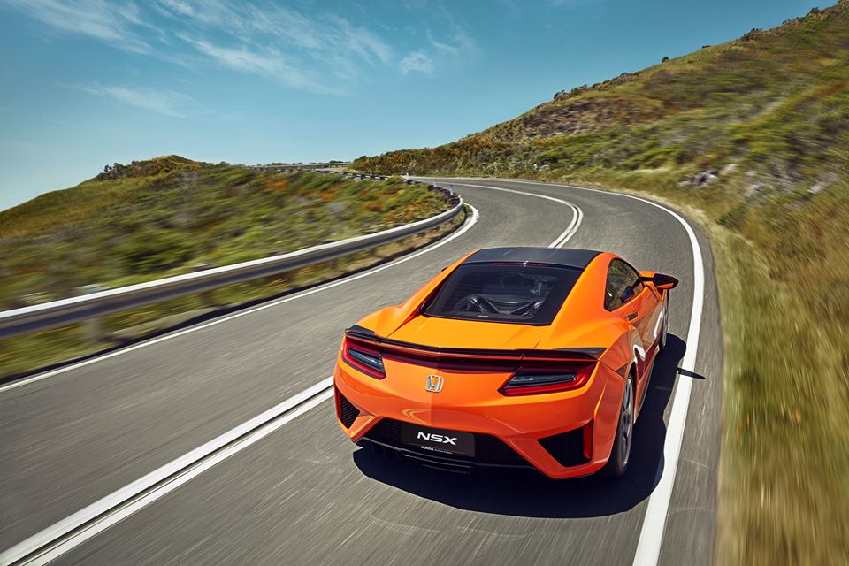 Honda NSX 2019 Orange | Royal Motor | hondanet.hu