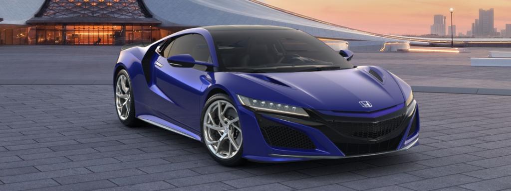 Honda NSX 2019 Blue | Royal Motor | hondanet.hu