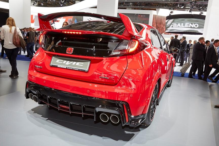61286 Honda At Frankfurt Motor Show 2015