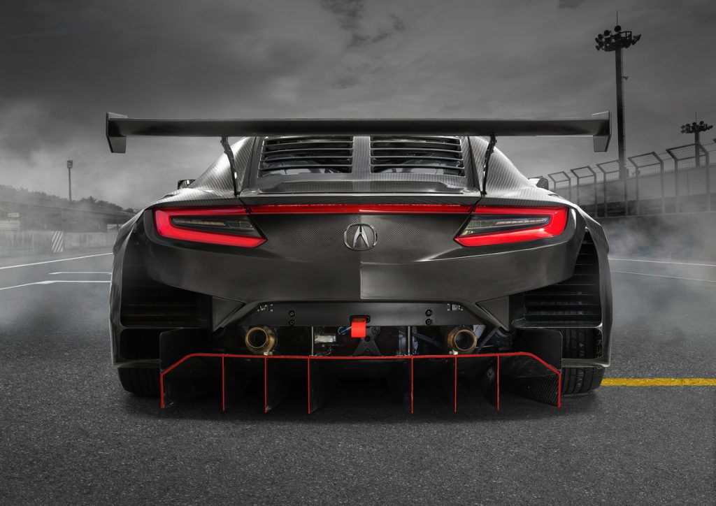 The Acura NSX GT3 Evo 2019 Royal Motor hondanet.hu