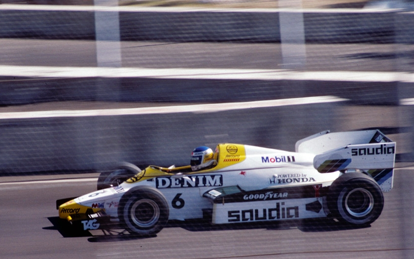 Keke Rosberg Williams FW09 1984 Dallas F1 1