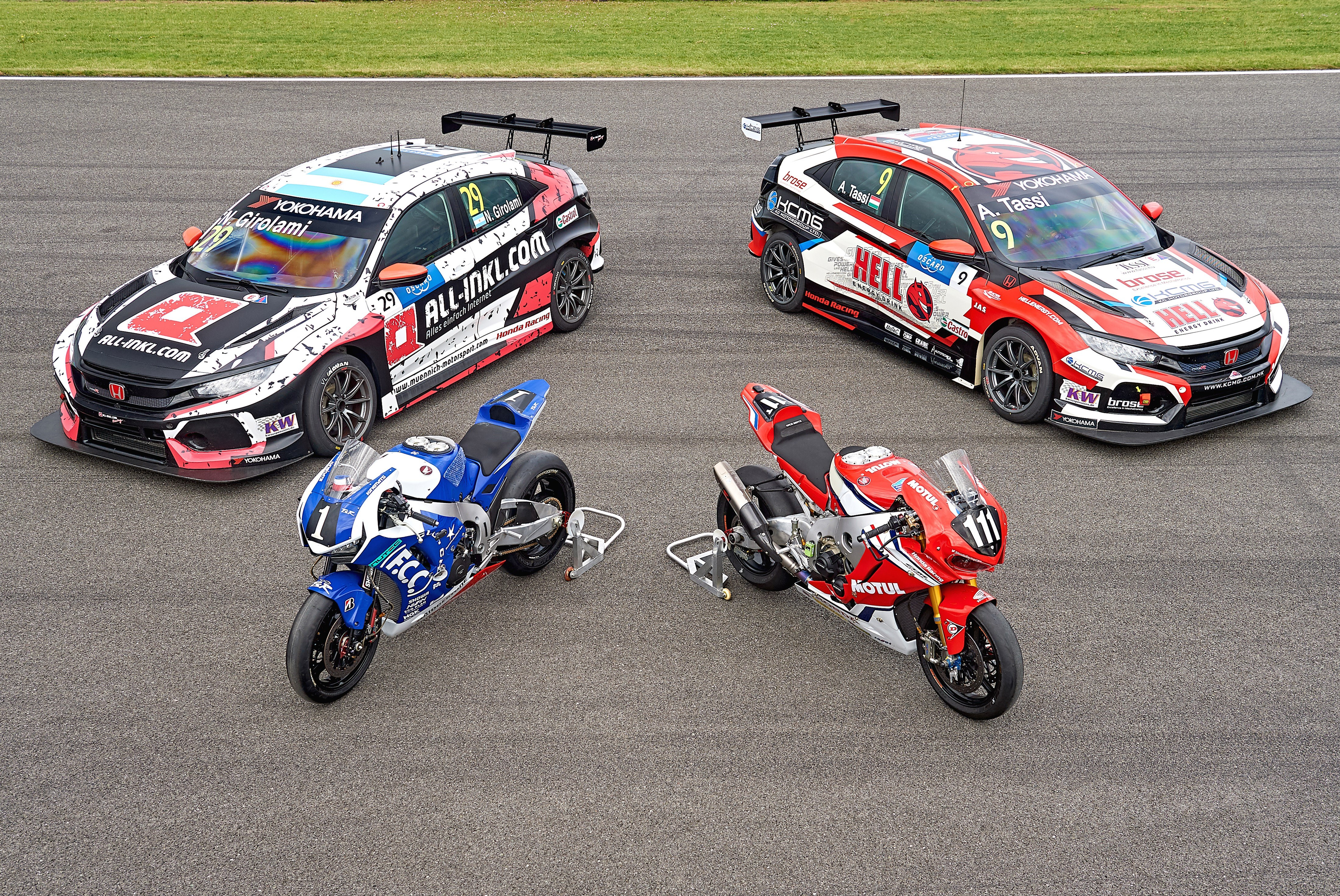 180802 Honda Teams Take Podiums In EWC And WTCR Double Header In Slovakia