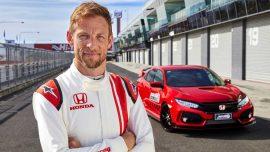 Jenson Button Honda Civic Type R Bathurst Lap Record 270x152