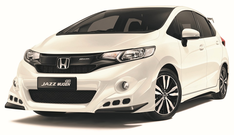 The Honda Jazz With Mugen Body Kit Is Limited To 300 Units