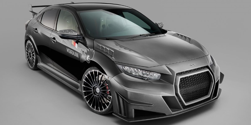 Mugen S Body Kit For The Honda Civic Type R Makes It Look Even More Insane  530323