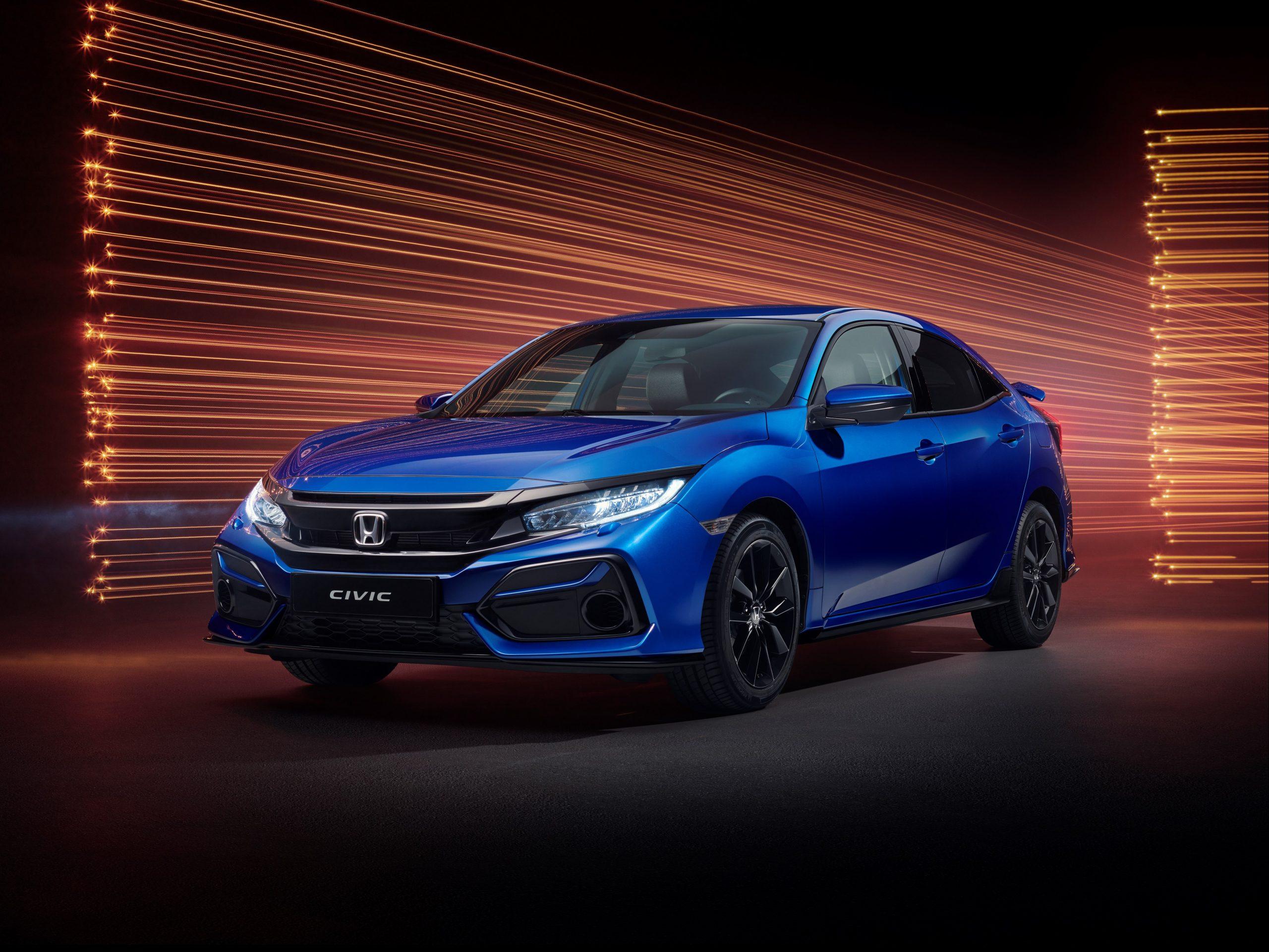 Honda Vienna Autoshow 2020 Honda Civic Sport Line Scaled