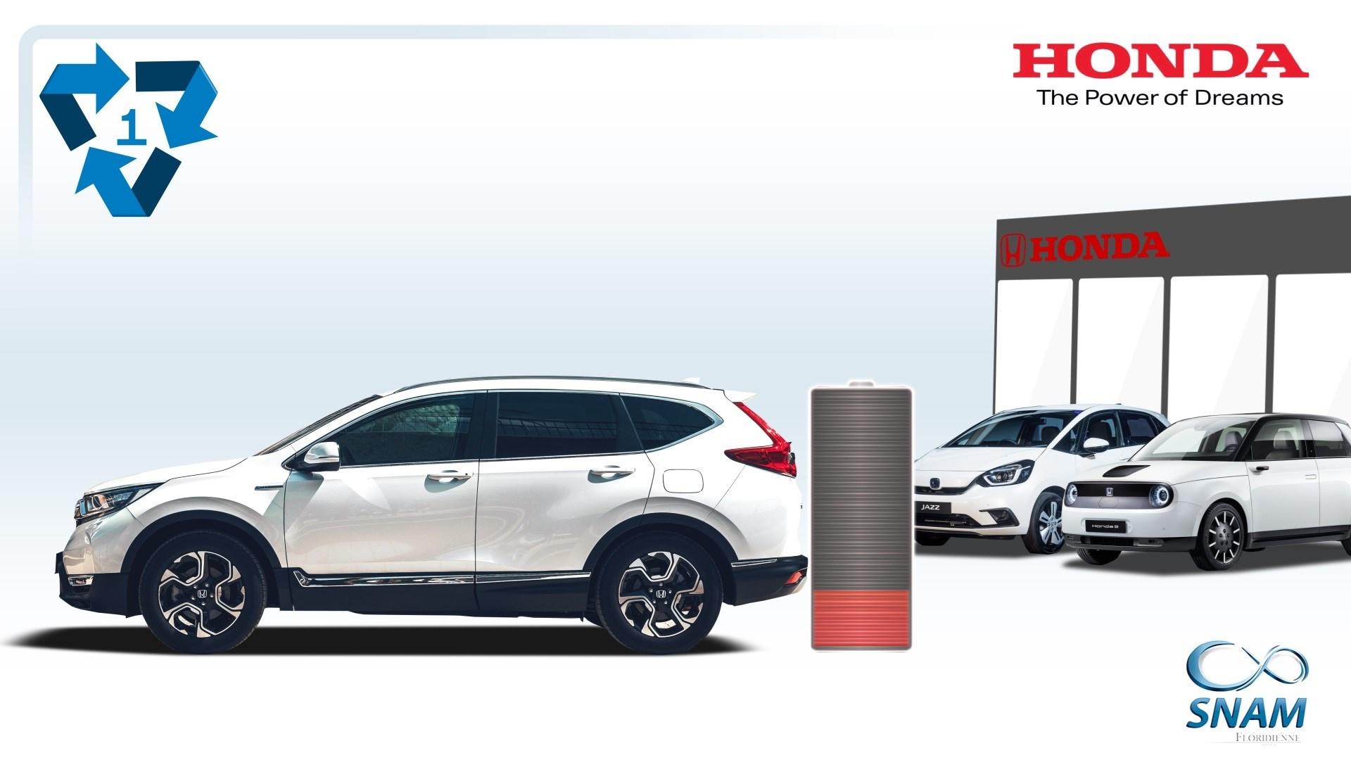 203372 Honda Hybrid EV Batteries Recycling