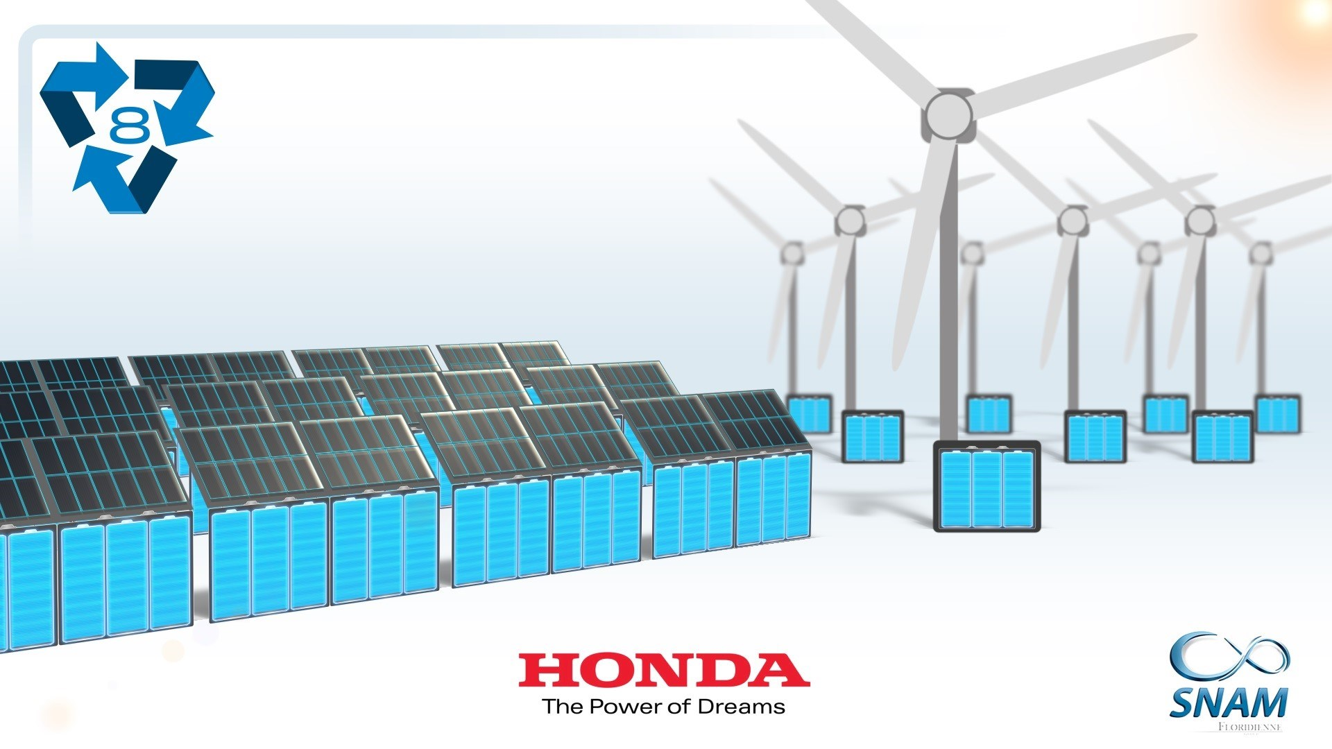 203379 Honda Hybrid EV Batteries Recycling