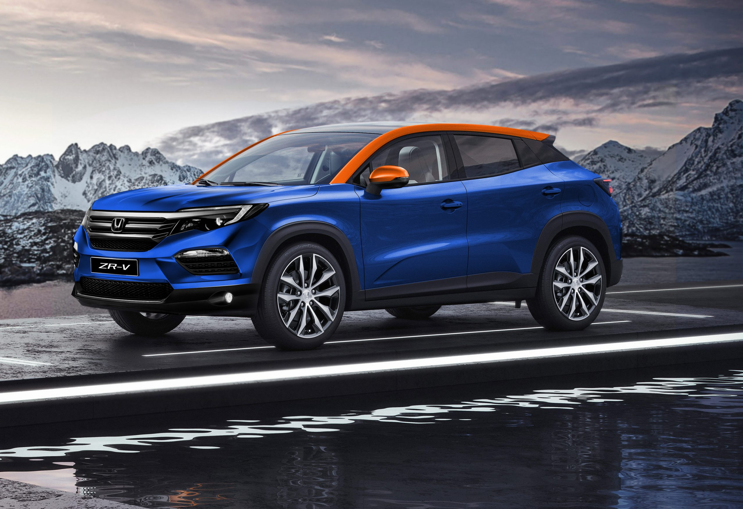 Honda Zr V Looks Like The Cr V Successor Thatll Take You By Surprise 143593 1 Scaled