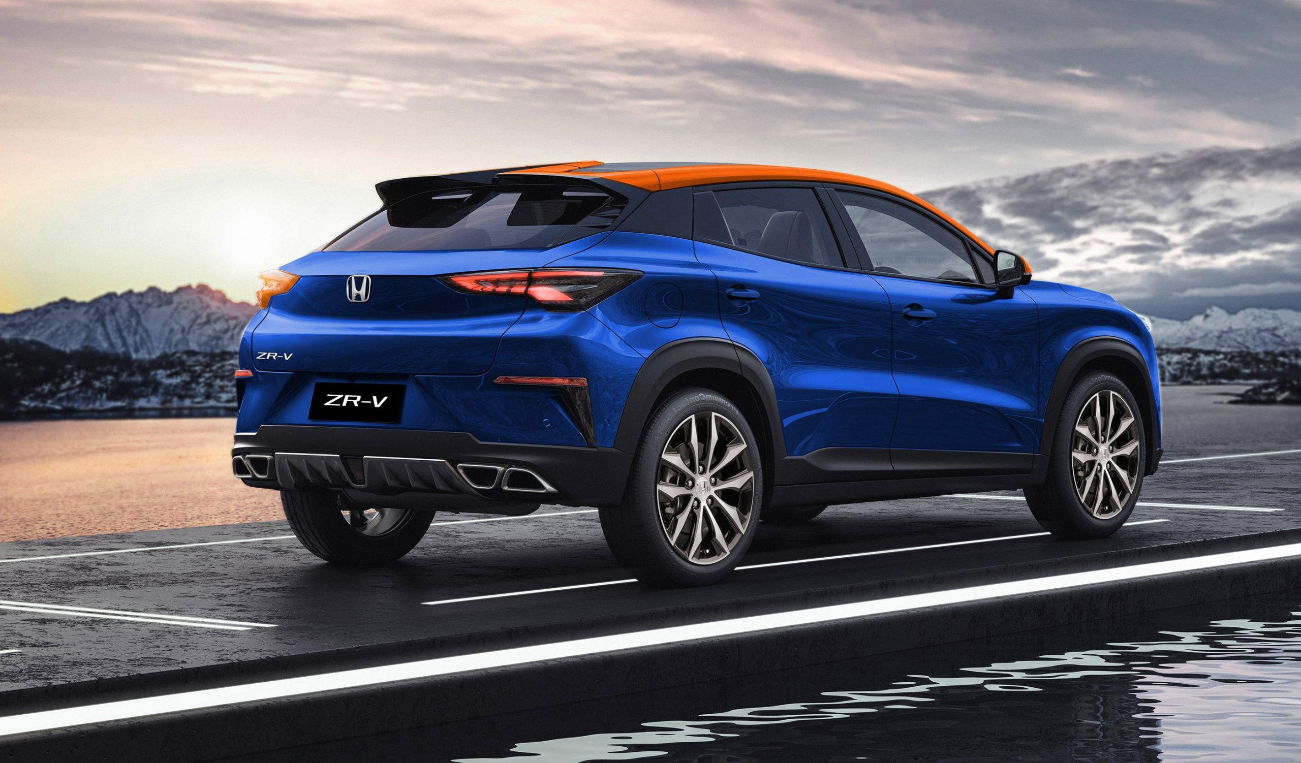 Honda Zr V Looks Like The Cr V Successor Thatll Take You By Surprise 1 Scaled