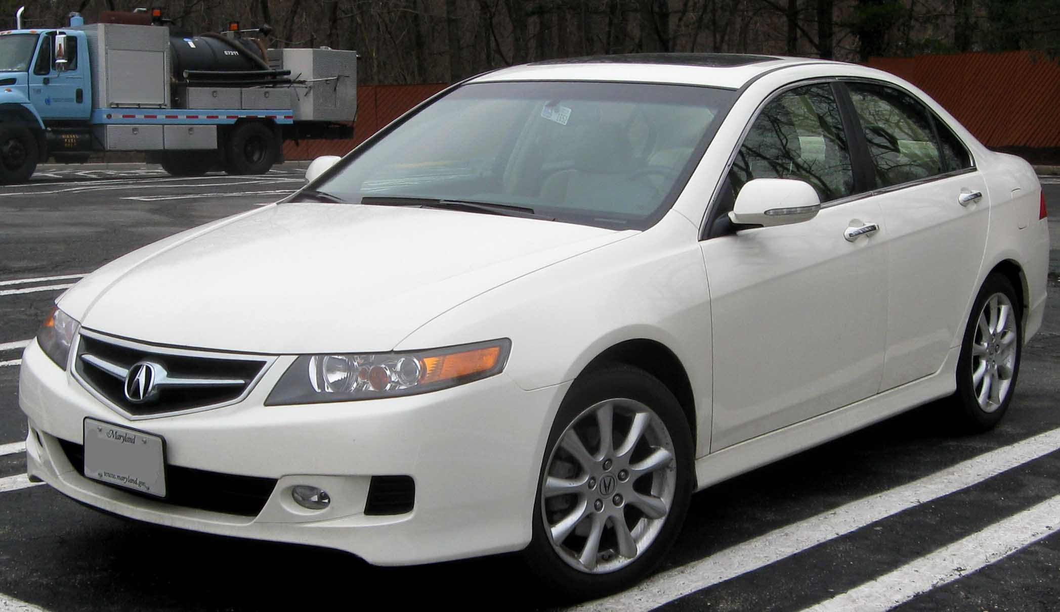 06 08 Acura TSX