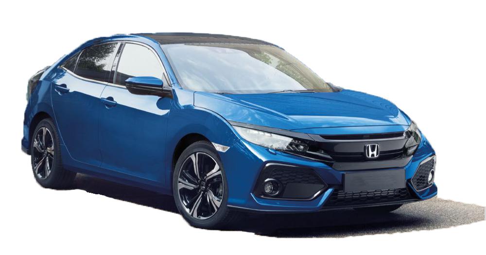 Sporty Blue Civic