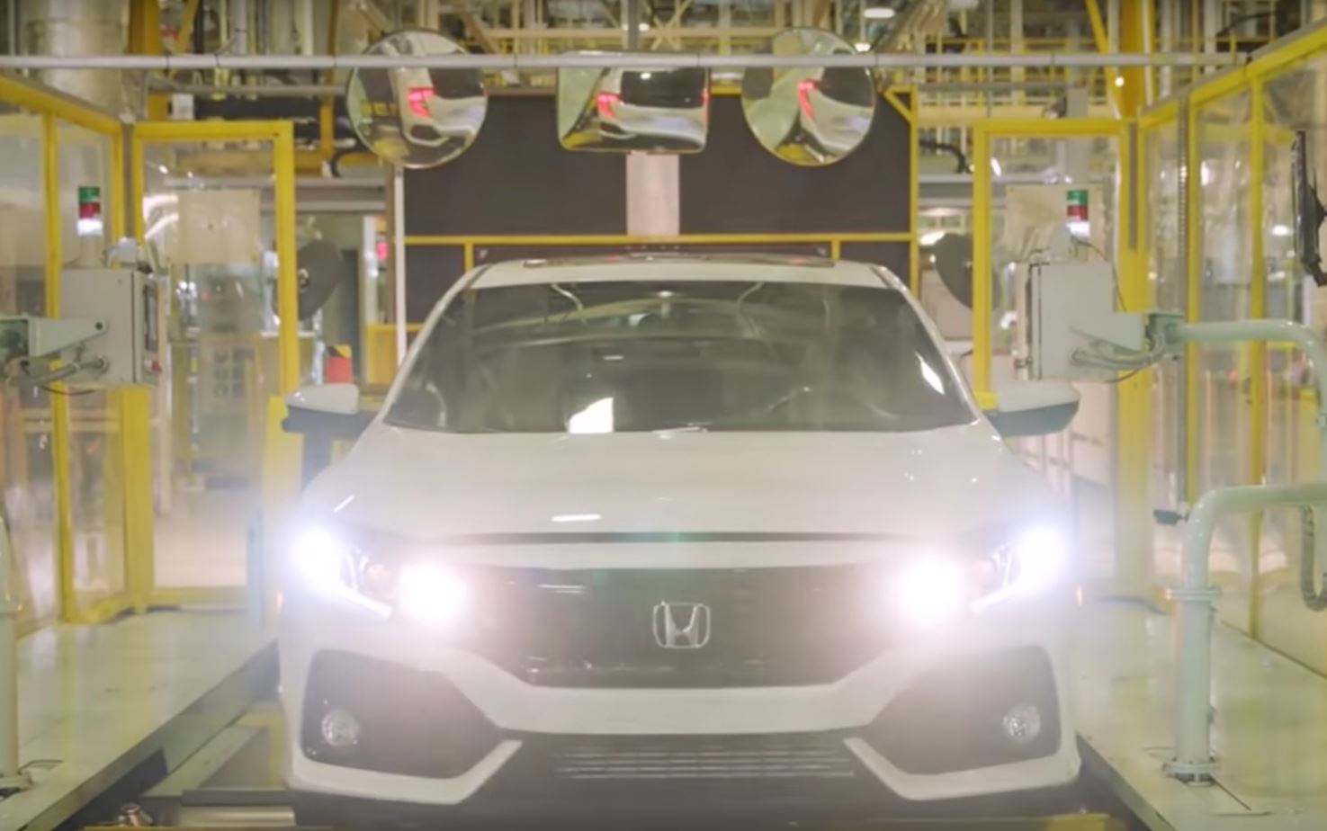 2017 Honda Civic X Hatchback Enters Production In The Uk Here S The Video 111415 1