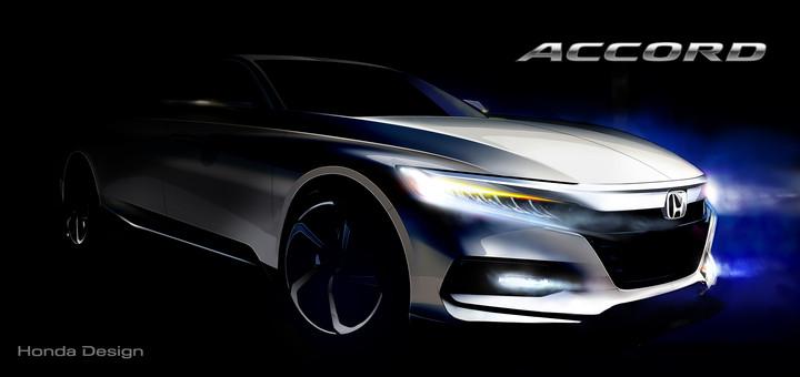 2018 Honda Accord Concept Sketch 1