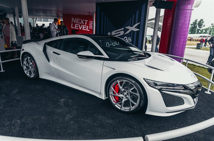 111054 Honda Challenge Lab At The 2017 Goodwood Festival Of Speed