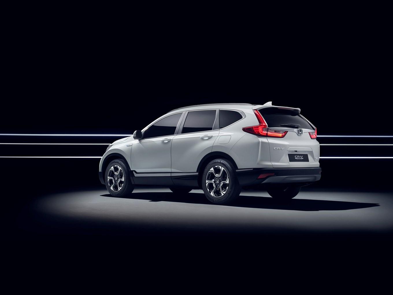 113240 Honda To Unveil CR V Hybrid Prototype At Frankfurt Motor Show