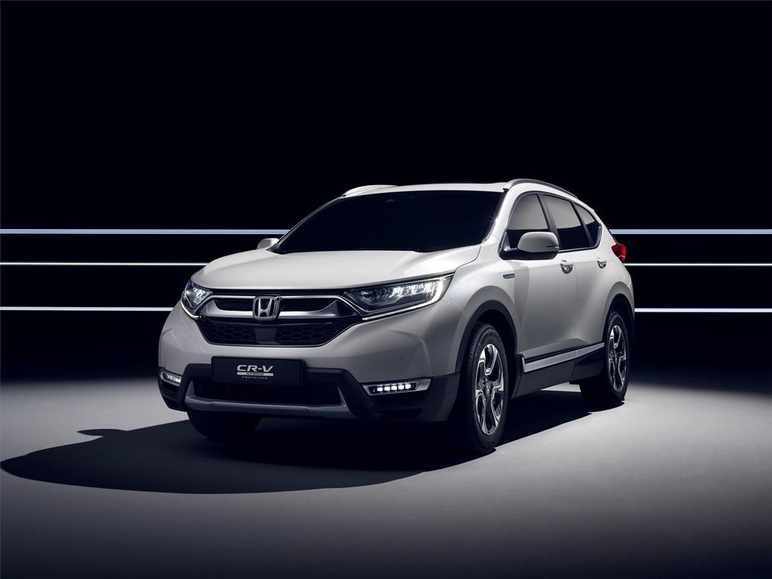 113876 Honda To Unveil CR V Hybrid Prototype At Frankfurt Motor Show 1