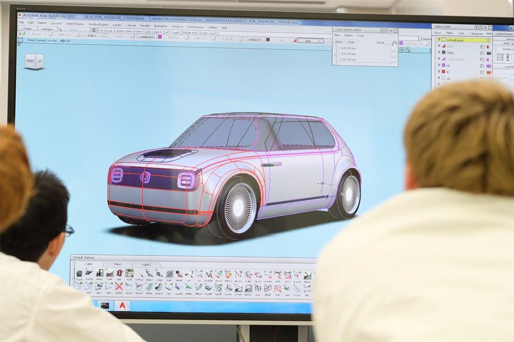 118200 Honda Urban EV Concept Design Story
