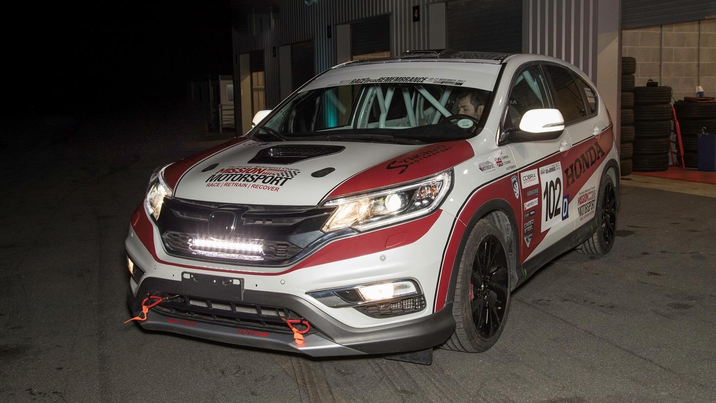 123605 Honda UK And Mission Motorsport Create First Ever CR V Diesel Race Car For